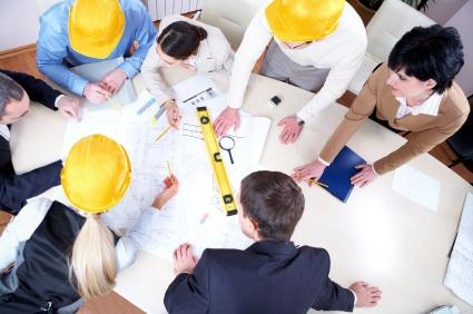 Inżynierowie, budowa hal