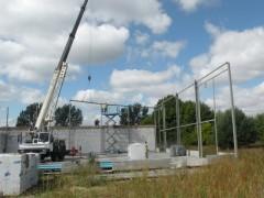 Osielsko – montaż konstrukcji stalowej
