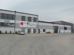 Projekt konstrukcyjny hali w Olsztynie 1