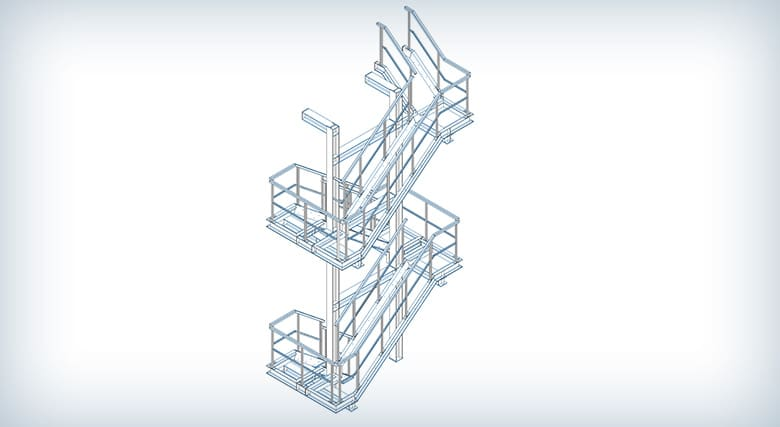 Projektowanie zewnętrznej klatki schodowej w Poznaniu
