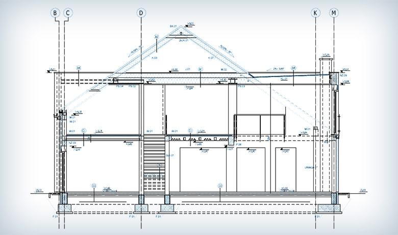 Projektowanie budynku jednorodzinnego wolnostojącego w Bierzglinku