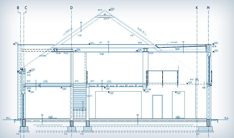 Projekt zamienny budynku jednorodzinnego w Bierzglinku