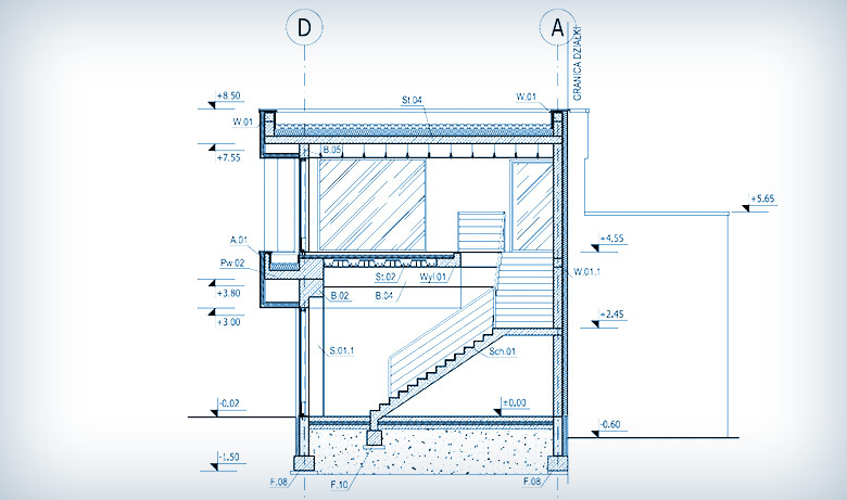Projektowanie budynku handlowo-usługowego w Dąbrówce