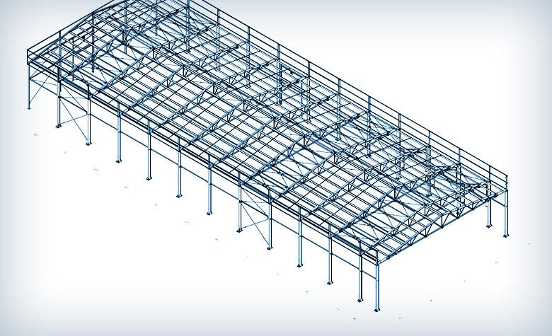 Projektowanie hali agro w Iwnie