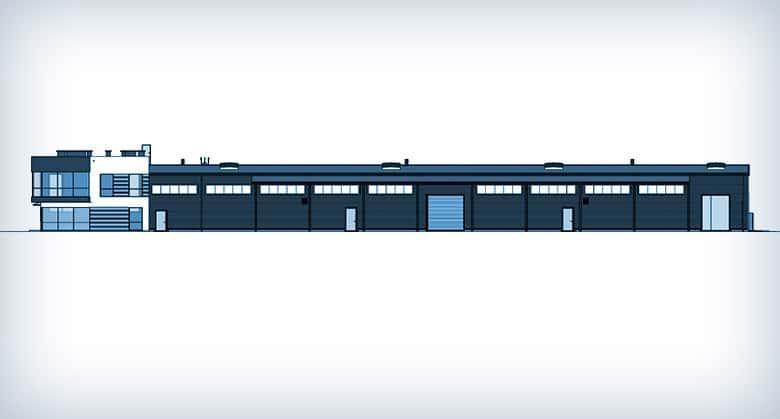 Projektowanie hali produkcyjnej w Niepruszewie