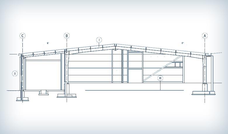 Projektowanie hali produkcyjno-magazynowej w Węgorzewie