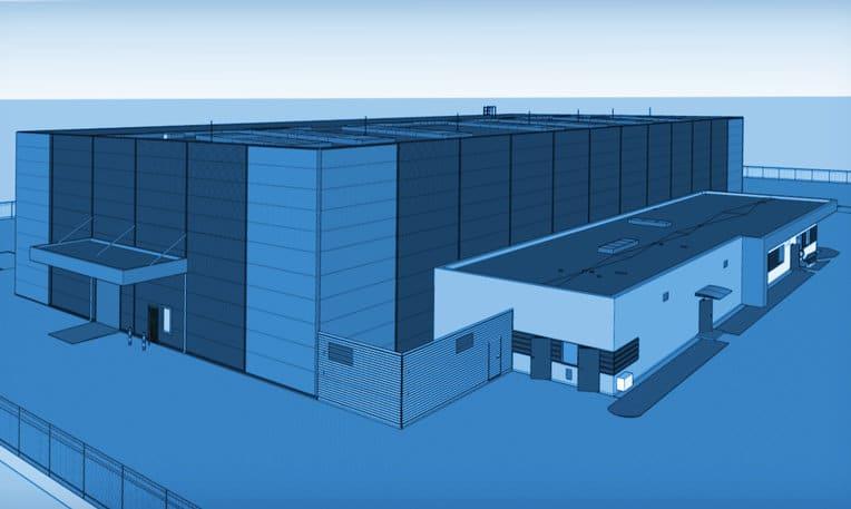 Projektowanie hali produkcyjno-magazynowej z zapleczem w Krośnie